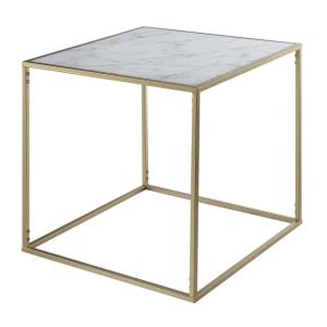 Where to find Gold Marble End Table in San Francisco