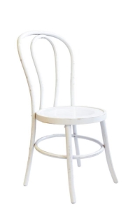 Rental store for White Washed Bentwood Chair in San Francisco CA