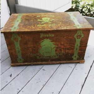 Where to find 1920 Vintage Pirate Treasure Chest in San Francisco