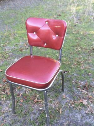 Where to find Retro Red Chair in San Francisco