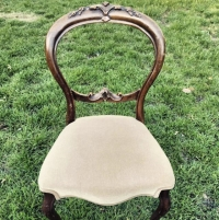 Rental store for Vintage Dining Chairs-Tan in San Francisco CA