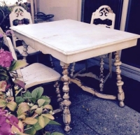 Rental store for Shabby Collection-Oak Table in San Francisco CA
