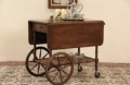 Rental store for Vintage 1930 s Maple Drop Leaf Bar Cart in San Francisco CA