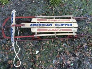 Where to find Vintage Sled American Clipper in San Francisco