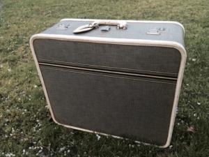 Where to find Vintage Striped Suitcase in San Francisco