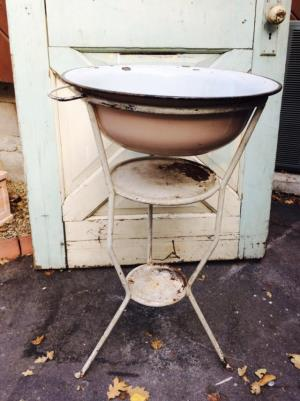 Where to find Vintage Washing Basin and Stand in San Francisco