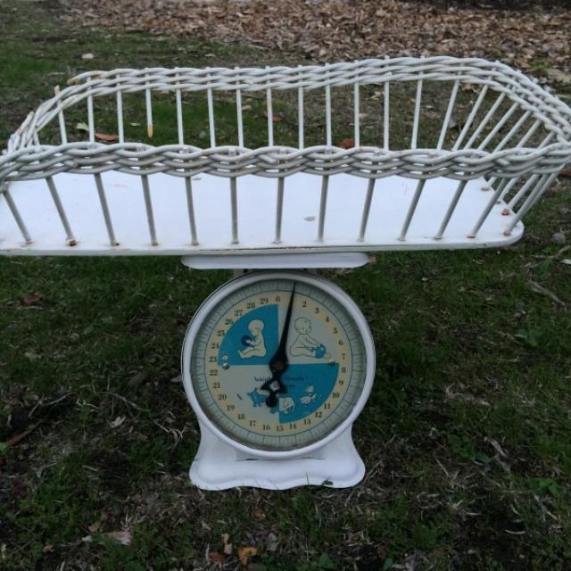 Where to find Vintage Baby Basket Scale in San Francisco