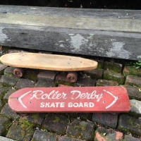 Rental store for Vintage Roller Derby Skateboard in San Francisco CA
