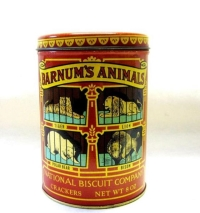Rental store for Vintage Circus Tins in San Francisco CA