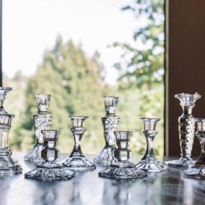 Where to find Crystal Taper Candle Holders in San Francisco
