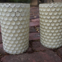 Rental store for Honeycomb Pillar Candle Holder in San Francisco CA
