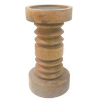 Rental store for Wooden Pillar Candle Holder in San Francisco CA