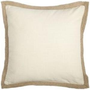 Where to find Cream Canvas Pillows with Jute in San Francisco