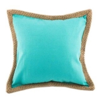 Rental store for Turquoise Canvas Pillows with Jute in San Francisco CA