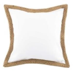 Where to find White Canvas Pillows with Jute in San Francisco