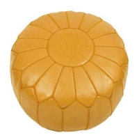 Rental store for Morrocan Pouf - Mustard in San Francisco CA