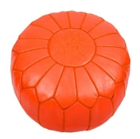 Rental store for Morrocan Pouf - Orange in San Francisco CA