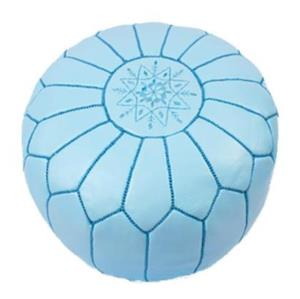 Where to find Morrocan Pouf - Light Blue in San Francisco