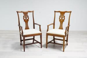 Where to find Vintage Dining Chairs- White in San Francisco
