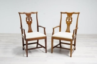 Rental store for Vintage Dining Chairs- White in San Francisco CA