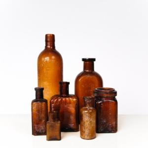 Where to find Brown Glass Bottles in San Francisco