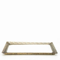 Rental store for Gold Mirrored Tray in San Francisco CA