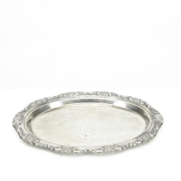Rental store for Small Oval Silver Tray in San Francisco CA