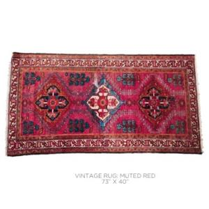 Where to find Vintage Rug -Muted Red in San Francisco