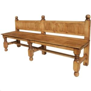 Rent Rustic Pine Double Bench