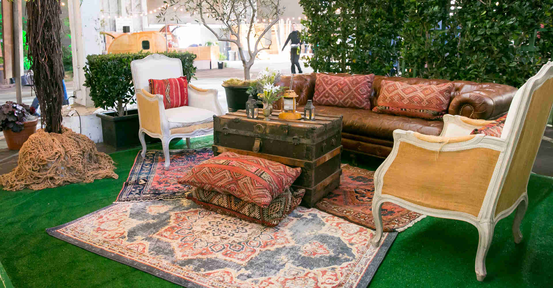 Vintage furniture rentals in San Francisco Bay Area